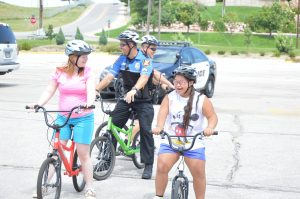 Bikes and Police