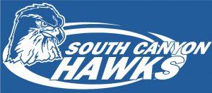 Blue SC Hawk logo