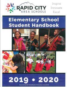 2019 20 RCAS student handbook cover