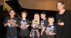Music Memory 3rd & 4th Grade Winners