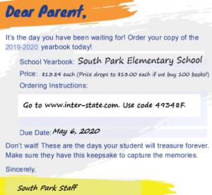 Yearbook Order Flyer1