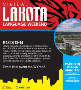 Virtual Lakota Language Weekend 2021