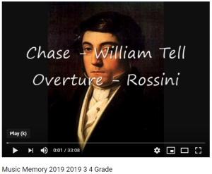 Music Memory 4th Grade