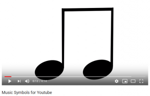 Music symbols youtube