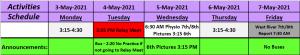May 3 7