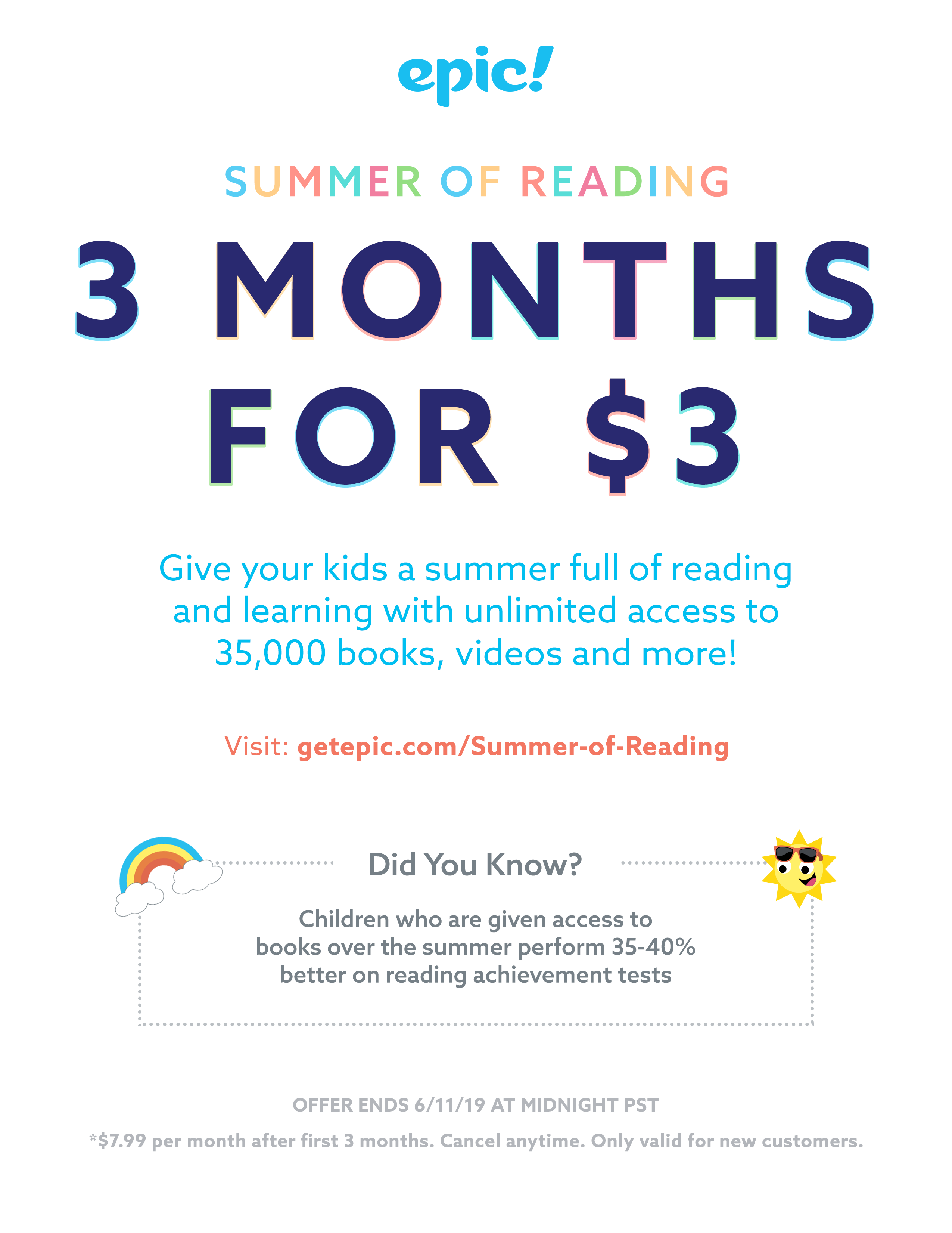 EPIC Summer Coupon Info